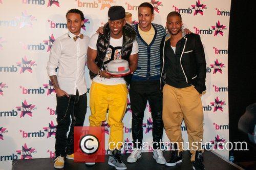 JLS Backstage at BRMB Live 2011 Birmingham, England