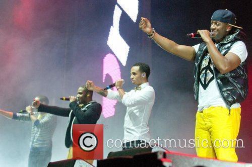 JLS Performing at BRMB Live 2011 at the...