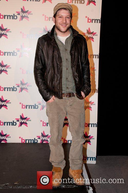 Matt Cardle Backstage at BRMB Live 2011 Birmingham,...
