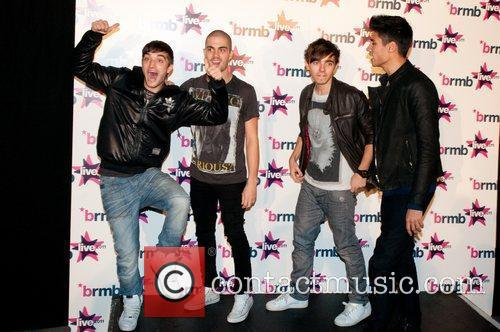 The Wanted Backstage at BRMB Live 2011 Birmingham,...