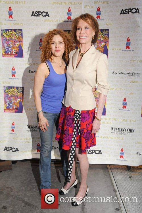 Bernadette Peters and Mary Tyler Moore 3