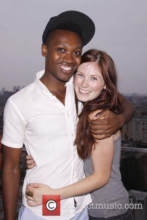 Ato Blankson-Wood and Allison Case  The cast...