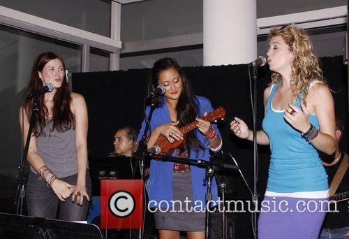 Allison Case, Kaitlin Kiyan and Kacie Sheik...