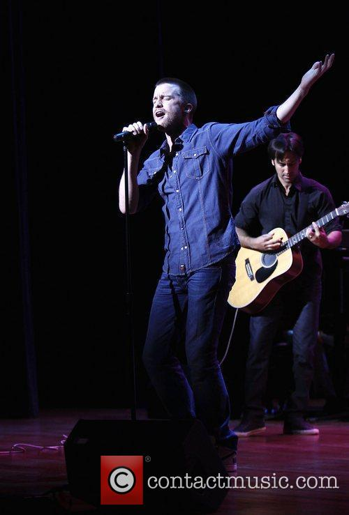 Gavin Creel and Robbie Roth  'Broadway Stands...
