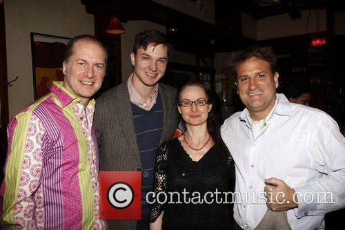 Daniel Jenkins, John Jeffrey Martin, guest and Jeff...