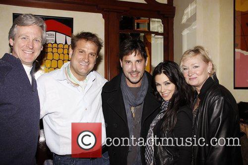 Jeff Calhoun, Ricky Paull Goldin and Gretta Monahan...