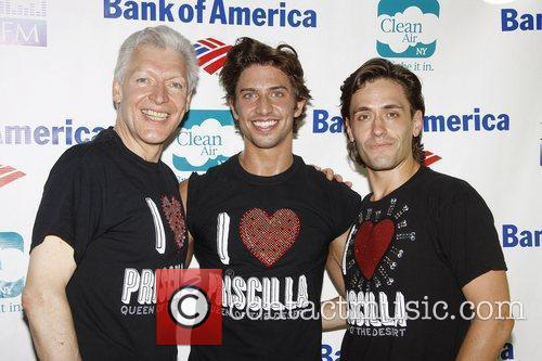 Tony Sheldon, Nick Adams and Eric Sciotto from...