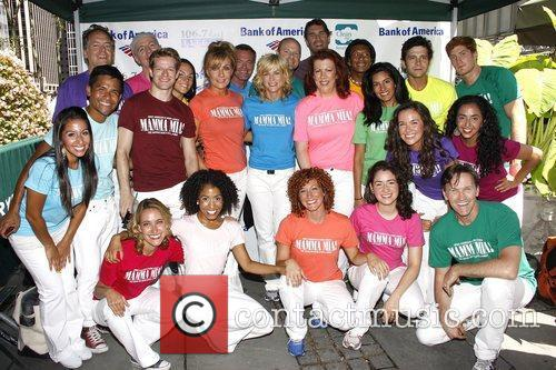 The cast from 'Mamma Mia!''  Broadway in...