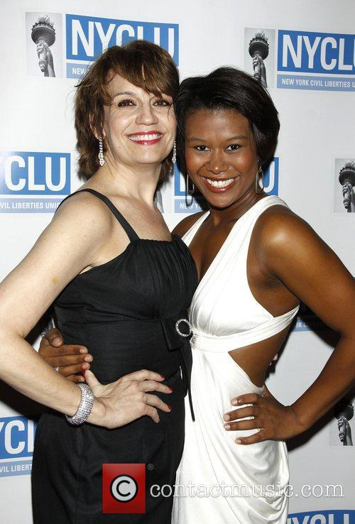 Beth Leavel and Christina Sajous 'Broadway Stands Up...