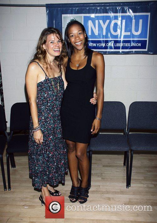 Celia Keenan-Bolger and Nikki M. James 'Broadway Stands...