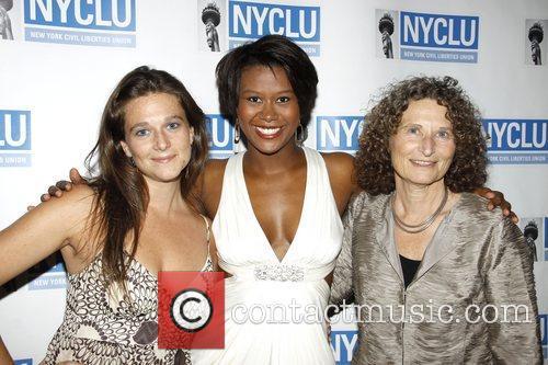 Liana Stampur, Christina Sajous and Donna Lieberman 'Broadway...