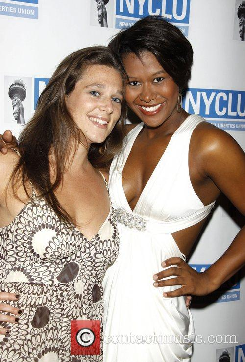 Liana Stampur and Christina Sajous 'Broadway Stands Up...
