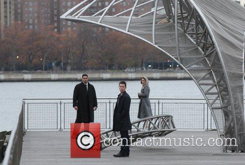 Mark Wahlberg and Catherine Zeta Jones on the...