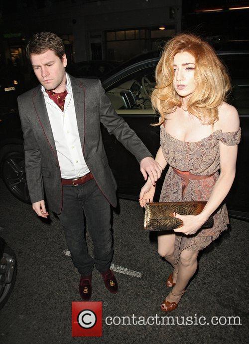 Nicola Roberts arriving at the Brompton Club London,...