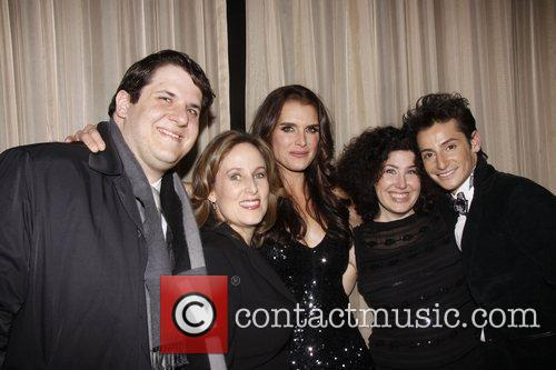 Zina Goldrich, Brooke Shields, Marcy Heisler and Frankie...