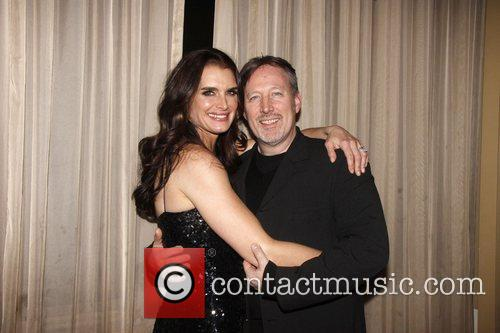 Brooke Shields and John McDaniel Opening night of...