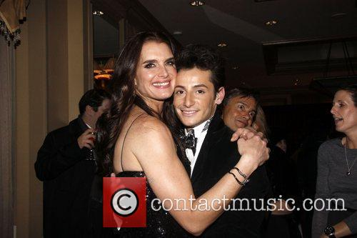 Brooke Shields and Frankie James Grande Opening night...