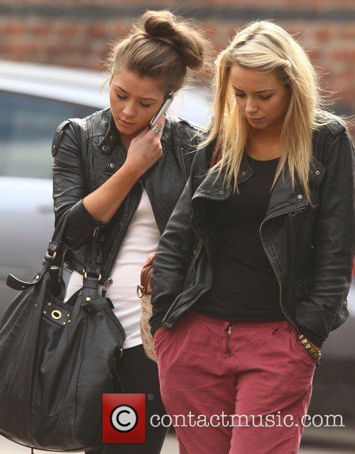Brooke Vincent and Sacha Parkinson 8