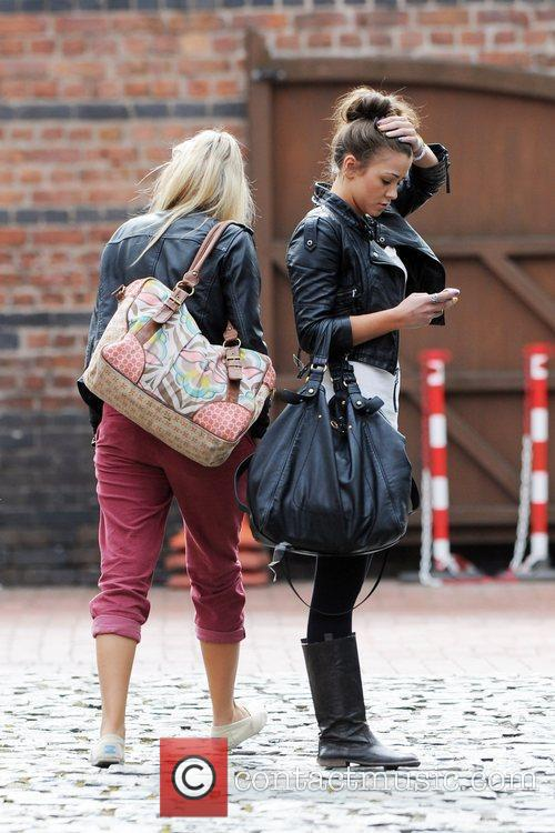 Coronation Street, Brooke Vincent and Sacha Parkinson 9