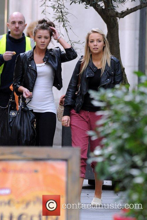 Coronation Street, Brooke Vincent, Sacha Parkinson