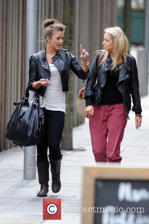 Coronation Street, Brooke Vincent and Sacha Parkinson 12