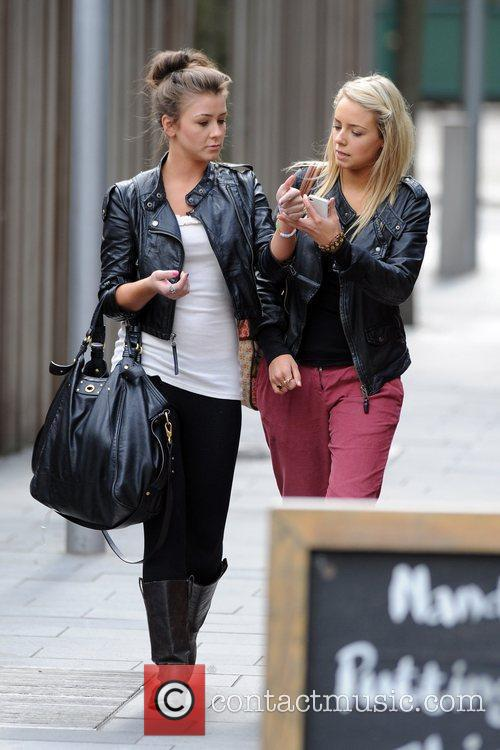 Coronation Street, Brooke Vincent and Sacha Parkinson 2