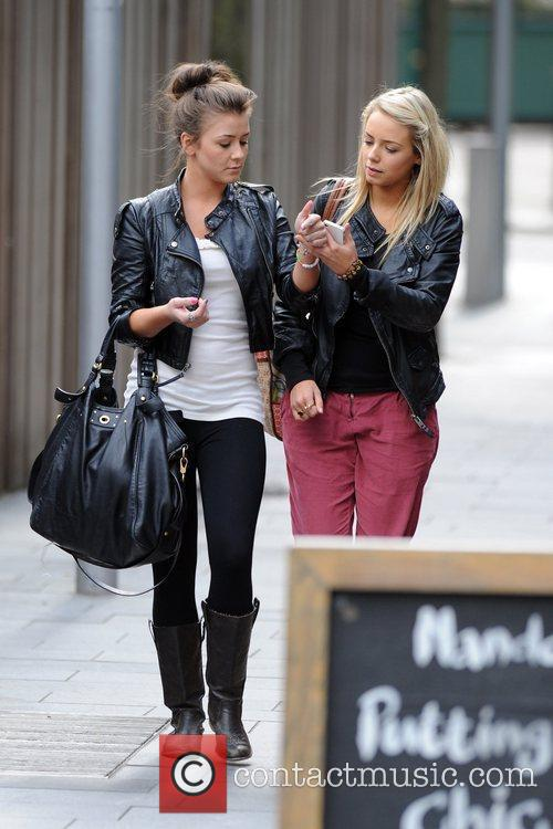 Coronation Street, Brooke Vincent and Sacha Parkinson 1