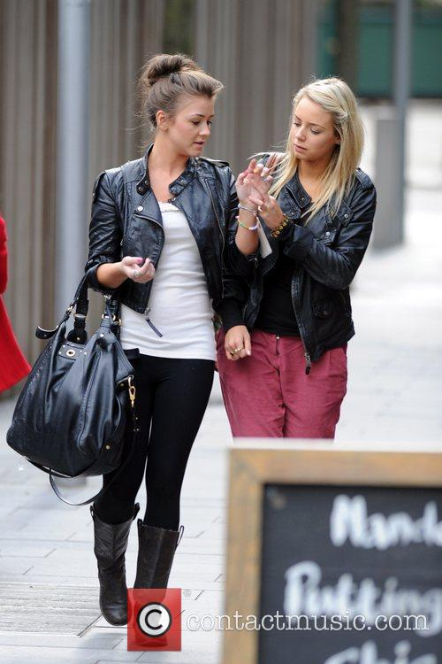 Coronation Street, Brooke Vincent and Sacha Parkinson 5