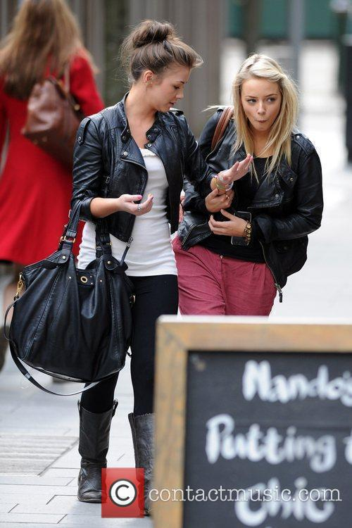 Coronation Street, Brooke Vincent and Sacha Parkinson 10