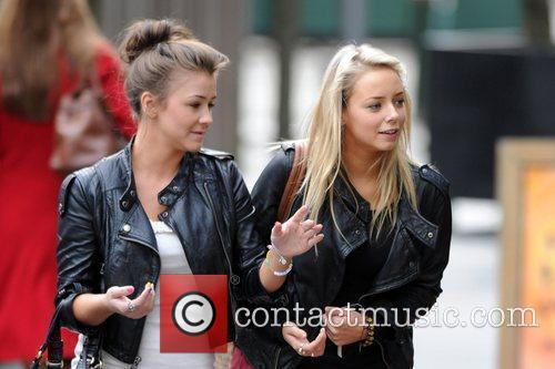 Coronation Street, Brooke Vincent and Sacha Parkinson 6