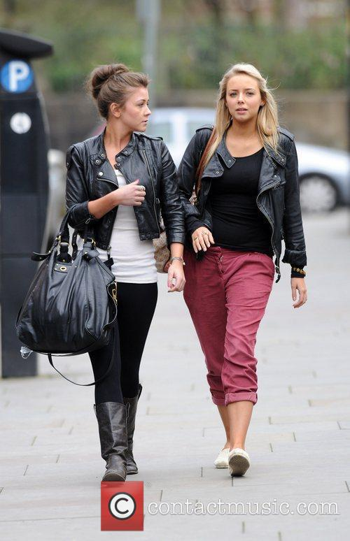 Coronation Street, Brooke Vincent and Sacha Parkinson 8