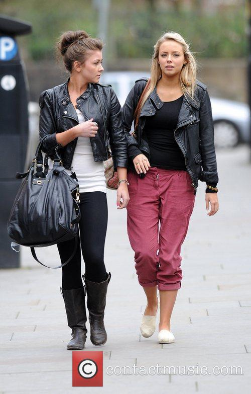 Coronation Street, Brooke Vincent and Sacha Parkinson 11