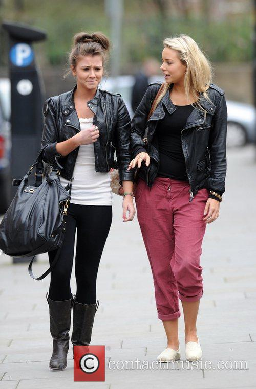 Coronation Street, Brooke Vincent and Sacha Parkinson 7