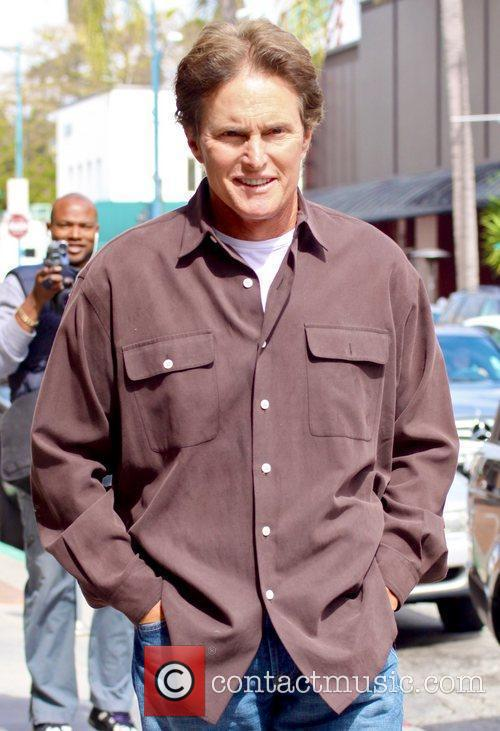 Bruce Jenner taking a walk in Beverly Hills...