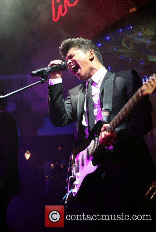 Bruno Mars performs live in concert at 'The...