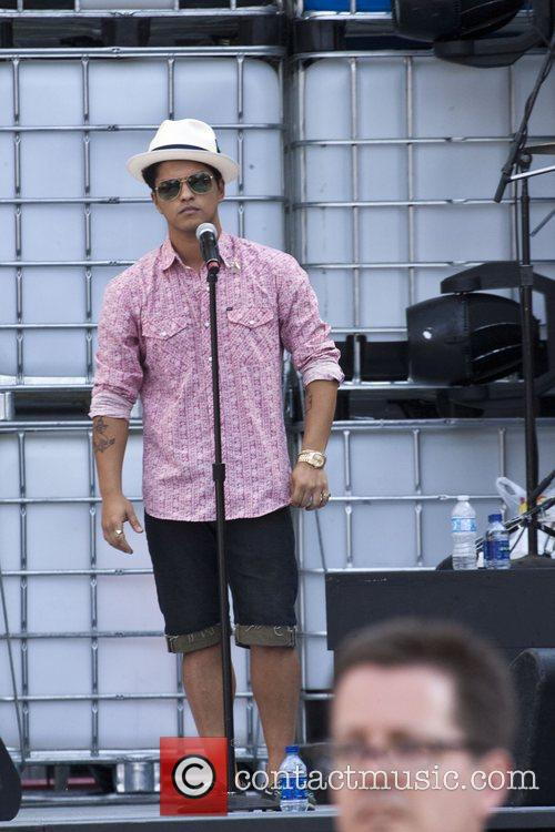 During sound check for Sunday's MMVA - Much...