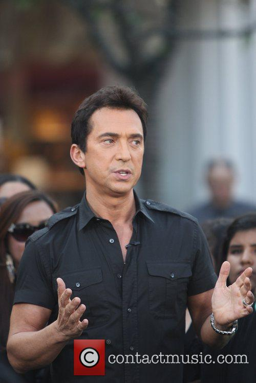 Bruno Tonioli at The Grove filming an appearance...