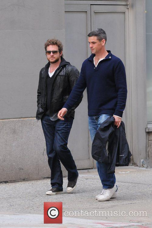 A.J. Buckley and Eddie Cahill  out and...