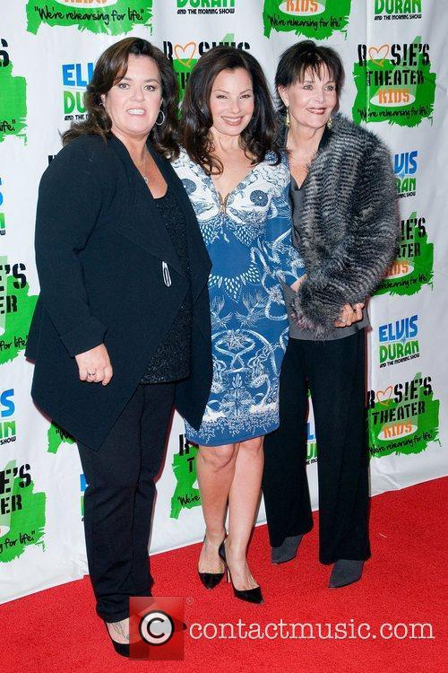 Rosie Odonnell, Fran Drescher, Linda Dano and New York Marriott Marquis