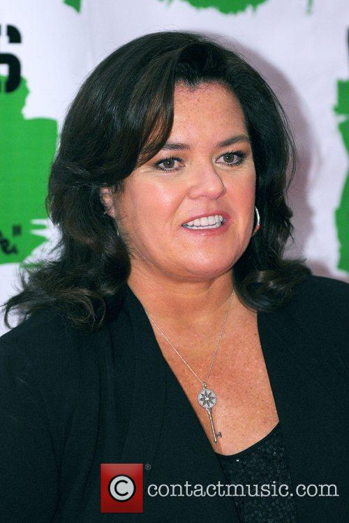 Rosie Odonnell and New York Marriott Marquis 8
