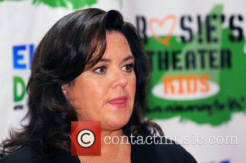Rosie Odonnell and New York Marriott Marquis 1