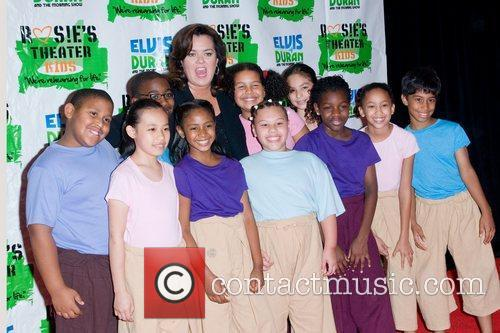 Rosie Odonnell and New York Marriott Marquis 11