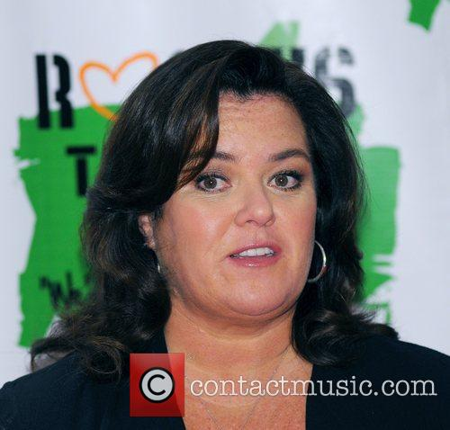 Rosie Odonnell and New York Marriott Marquis 6