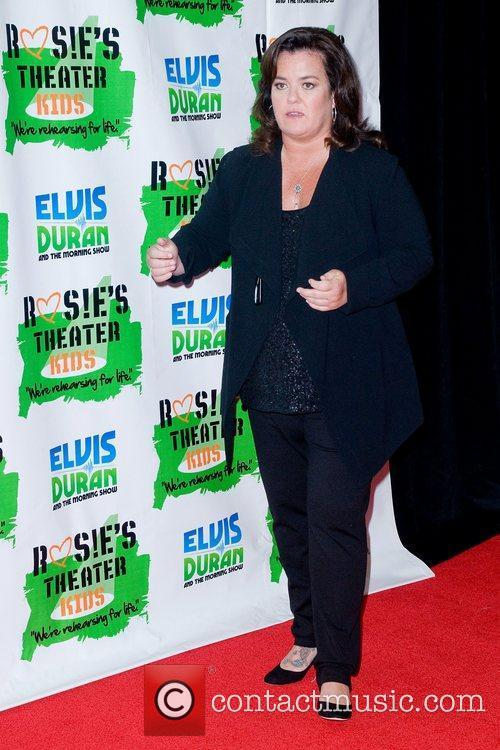 Rosie ODonnell and New York Marriott Marquis 7