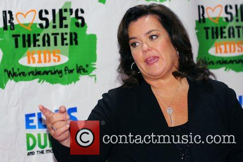 Rosie Odonnell and New York Marriott Marquis 4