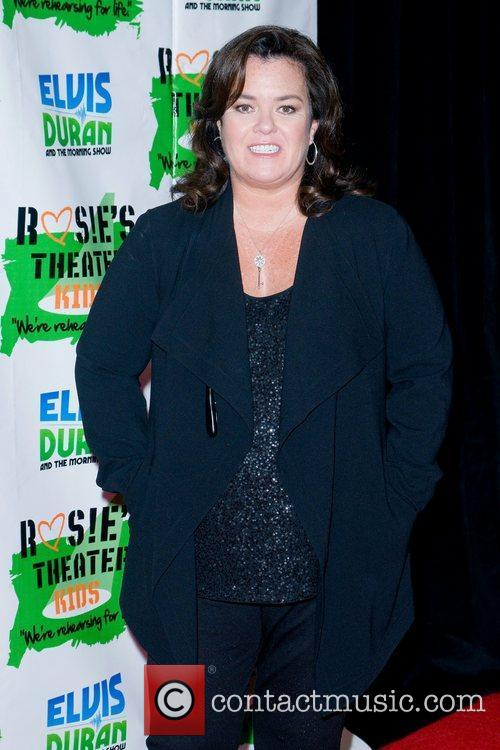 Rosie Odonnell and New York Marriott Marquis 9