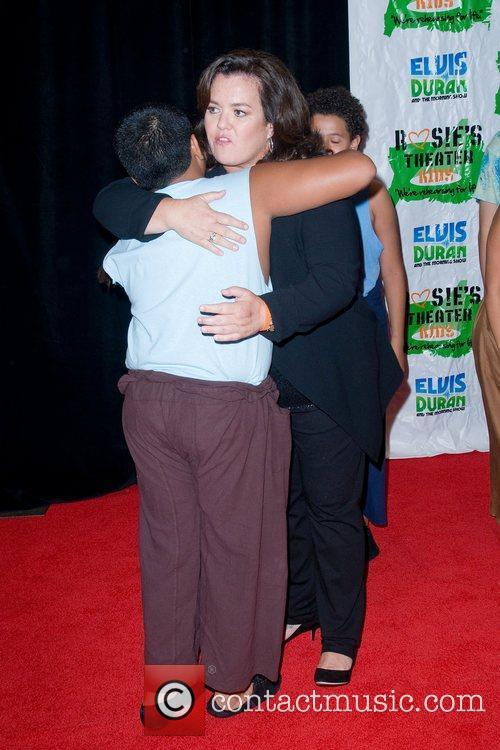 Rosie Odonnell and New York Marriott Marquis 5