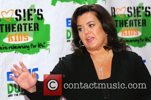 Rosie Odonnell and New York Marriott Marquis 2