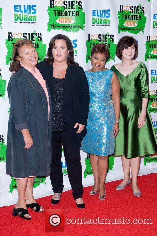 Rosie Odonnell and New York Marriott Marquis 3