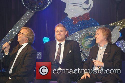 Eric Clapton, Andrew Flintoff and Bill Wyman 1